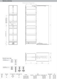 MAXIMA CLASSIC Cargo Maxi 400/5 1700-1900 Chrom Prowadnica Z Doc - Rejs