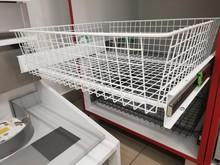 Wyposażenie szaf Szuflada MD 500 H=150 Metal Lakier Biały Prowadnica Kulkowa Z Dociągiem - Rejs