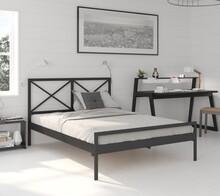 Łóżko metalowe ze stelażem Kolorado