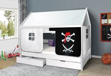 Łóżko dziecięce DOMEK Pirat