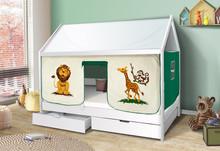 Łóżko dziecięce DOMEK Safari