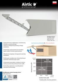 Podnośnik AirticLIFT II uniwersalny Biały RAL 9016 - Airtic Professional