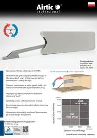 Rozwórka barkowa AirticOPEN biała - Airtic Professional
