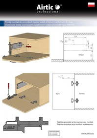Podnośniki Rozwórka barkowa AirticOPEN Popiel - Airtic Professional