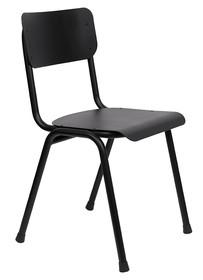 Krzesło BACK TO SCHOOL Outdoor - czarne