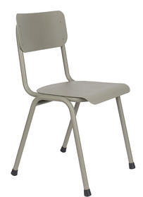 Krzesło BACK TO SCHOOL Outdoor - zielono-szare