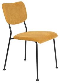 Krzesło BENSON - musztardowe