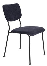 Krzesło BENSON - granatowe