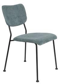 Krzesło BENSON - szaro-niebieskie