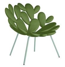 Fotel FILICUDI - ciemny zielony