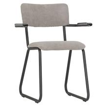 Krzesło RIBB z podłokietnikami - zielone
