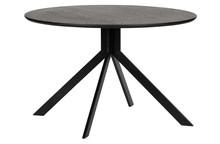 Stół BRUNO Ø120 - czarny