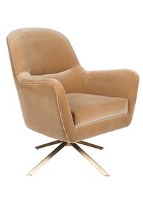 Fotel lounge ROBUSTO - karmelowy