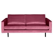 Sofa RODEO 2,5 - aksamitna różowa