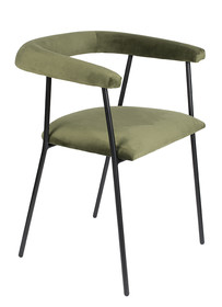 Krzesło HAILY - oliwkowe