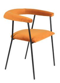 Krzesło HAILY - pomarańczowe