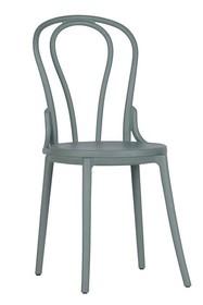 Zestaw 2 krzeseł BIBI - zielony
