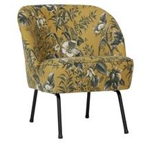 Fotel FR VOGUE - musztardowe maki