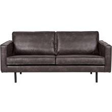 Sofa FR RODEO 2,5 - skóra czarna