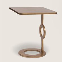 Stolik kawowy - złoty
