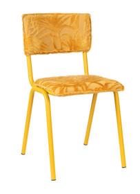 Krzesło BACK TO MIAMI SUNSET - żółty
