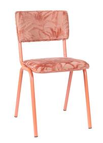 Krzesło BACK TO MIAMI FLAMINGO - różowy