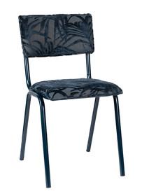 Krzesło BACK TO MIAMI MIDNIGHT - niebieski