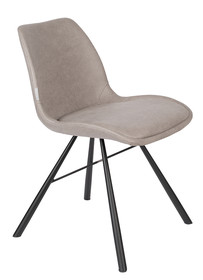 Krzesło BRENT AIR - szary