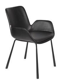 Fotel BRIT LL - czarny