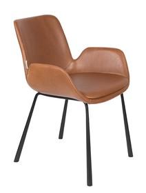 Fotel BRIT LL - brązowy