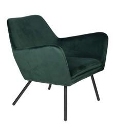Fotel BON VELVET - zielony
