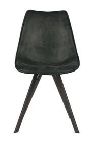 Zestaw 2 krzeseł SWEN - czarne