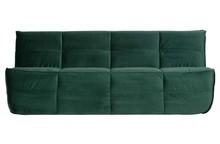 Sofa CLUSTER 3-osobowa velvet - zielona