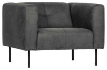Fotel SKIN - ciemnoszary