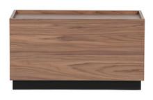 Stolik kawowy BLOCK 40x82 - brązowy