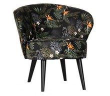 Fotel BO - kwiaty