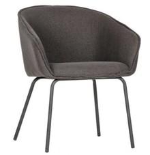 Zestaw 2 krzeseł SIEN - szare
