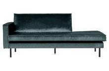Sofa RODEO lewa strona turkusowa