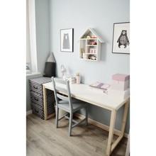 Minimalistyczne, drewniane biurko B-DES3-100 SIMPLE - 100x50cm
