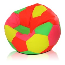 Pufa Piłka Nożna Fluo