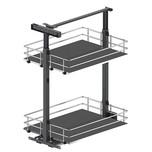 Maxima SILVA Cargo mini dolne 500 grafit to idealna propozycja do zabudowy szafek dolnych. Półki z pełnym dnem , z płyty MDF będą idealnym rozwiązaniem...