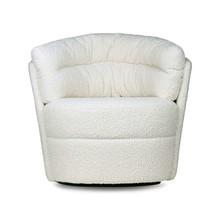 Fotel obrotowy - kremowy
