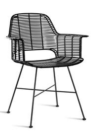 Krzesło TUB outdoor - czarne