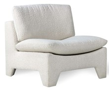Fotel RETRO LOUNGE - kremowy
