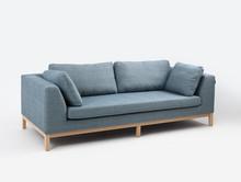 Sofa rozkładana 3-osobowa AMBIENT WOOD