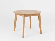 Stół rozkładany WOODYOU ROUND 95 - dąb lity