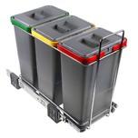 Sortownik na śmieci ELLETIPI oznaczony kodem PF01 34A3 4 x 8l  Posiada TRZY POJEMNIKI: każdy o pojemności 8 litrów  Wymiary sortownika: Szerokość: 23...