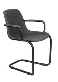 Krzesło do jadalni THIRSTY grafitowy szary