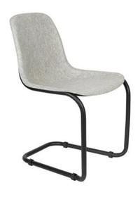 Krzesło THIRSTY - popielaty szary