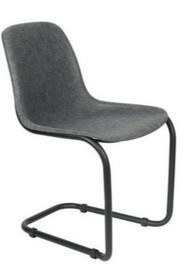 Krzesło THIRSTY grafitowy, szary